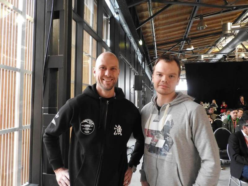 Hatch cofounders Vesa Jutila (left) and Juhani Honkala (right).