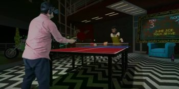 HTC's newest virtual reality games include Ping-Pong in VR