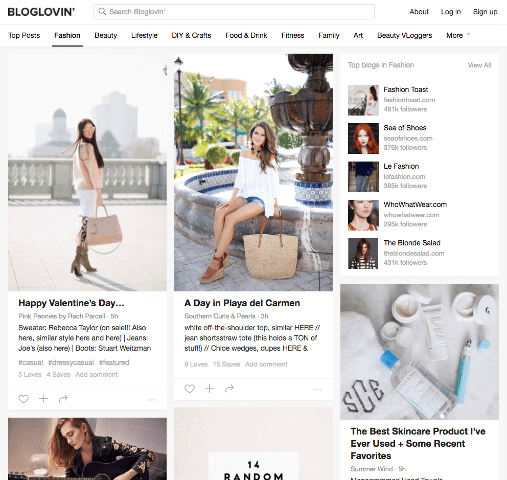influencers-bloglovin