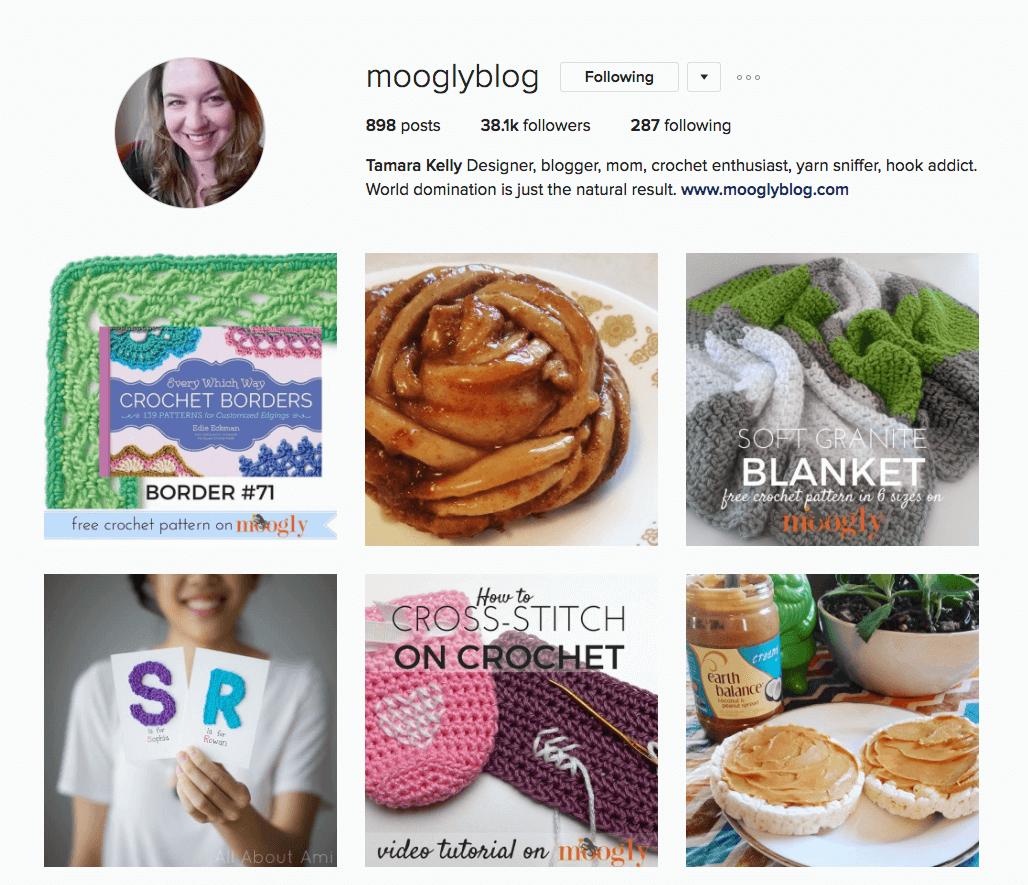 Tamara Kelly of MooglyBlog.com via Instagram