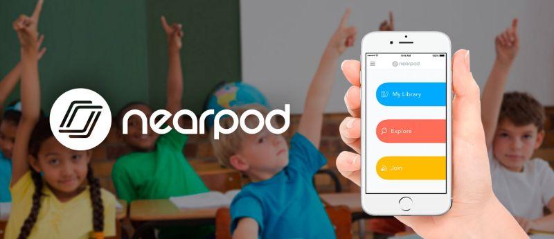 Nearpod app on iPhone