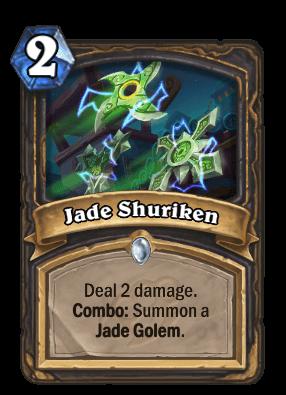 Jade Shuriken