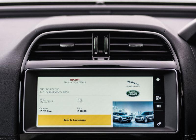 Shell App (Jaguar): Payment