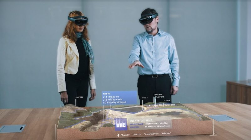 Loook and BGC can visualize engineering landscapes with HoloLens.