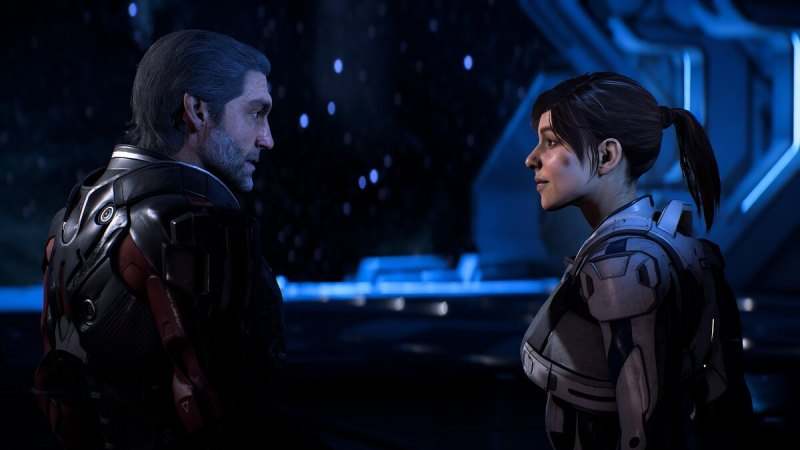 Mass Effect: Andromeda features father Alec Ryder and daughter Sarah Ryder in an epic new story.
