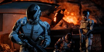 Watch us revel in Mass Effect: Andromeda's airborne 'extreme strafing'