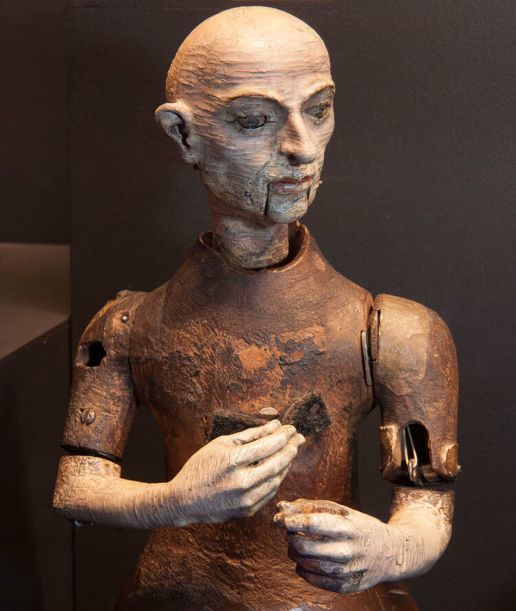 Automation monk: London Science Museum
