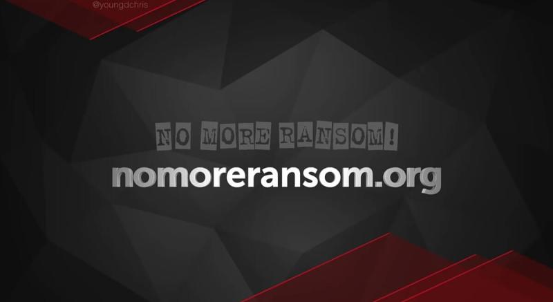 No More Ransom helps ransomware victims.