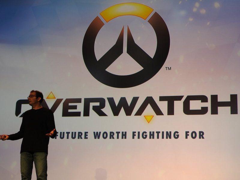 Jeff Kaplan, game director on Overwatch.