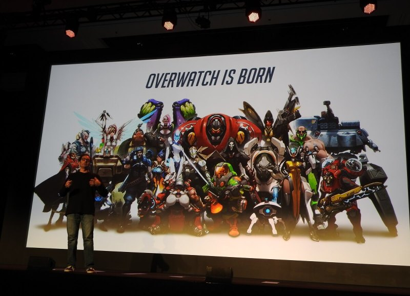 Jeff Kaplan talks about building Overwatch at DICE Summit 2017. These characters were the work of Arnold Tsang.