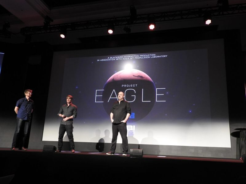 Creators of Project Eagle at DICE Summit.