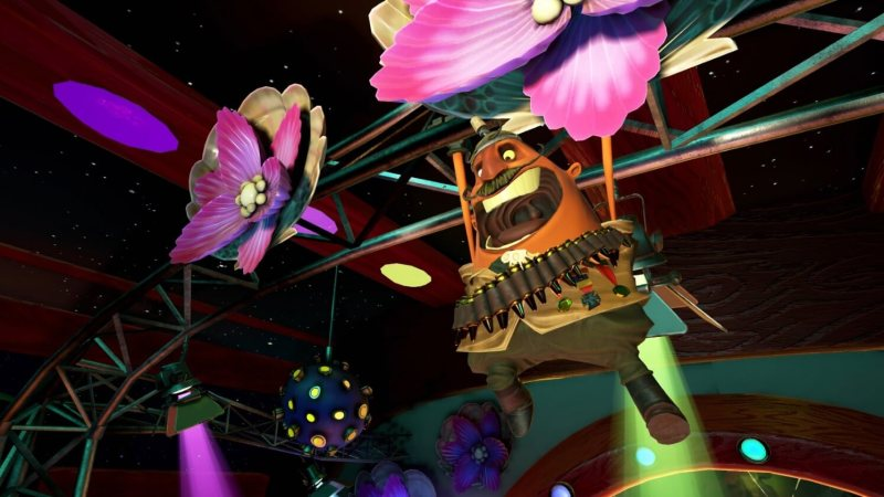 Psychonauts in the Rhombus of Ruin is a point-and-click adventure in VR.