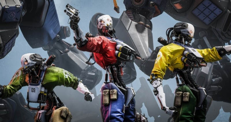 Epic's Robo Recall is a funny shooter in VR.