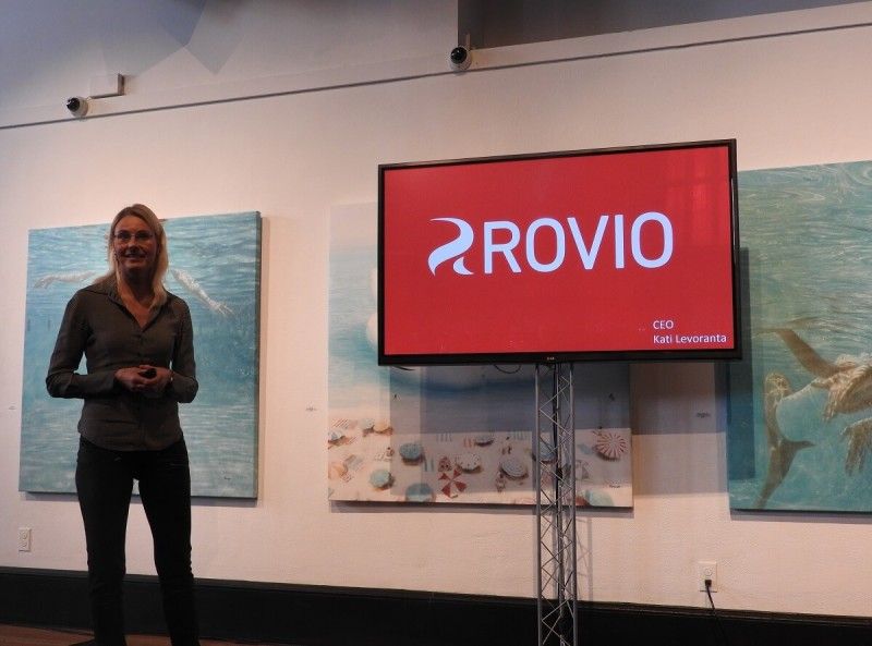Kati Levoranta, CEO of Rovio.