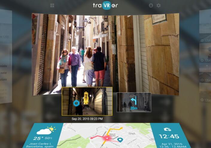 TraVRer: A 360-degree video platform for travel
