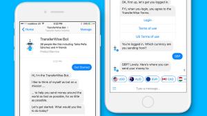 TransferWise: Facebook Messenger Bot