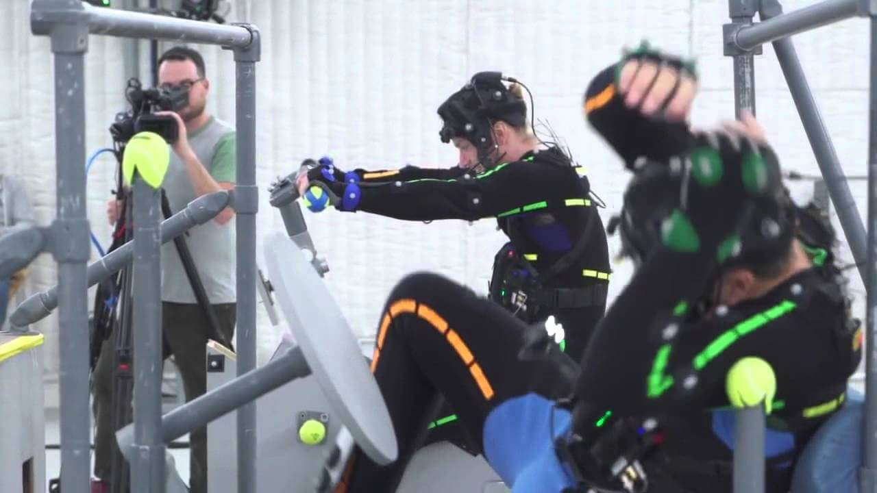 Recording mocap for Uncharted 4.