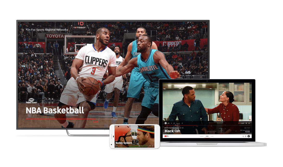 YouTube TV will work on moblie, desktop, and TV
