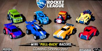 Rocket League becomes real with new toy line