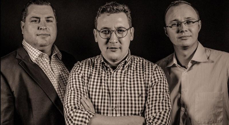Brett Brown, Aleksandr Agapitov, Dmitri Bourkovski of Xsolla Capital.