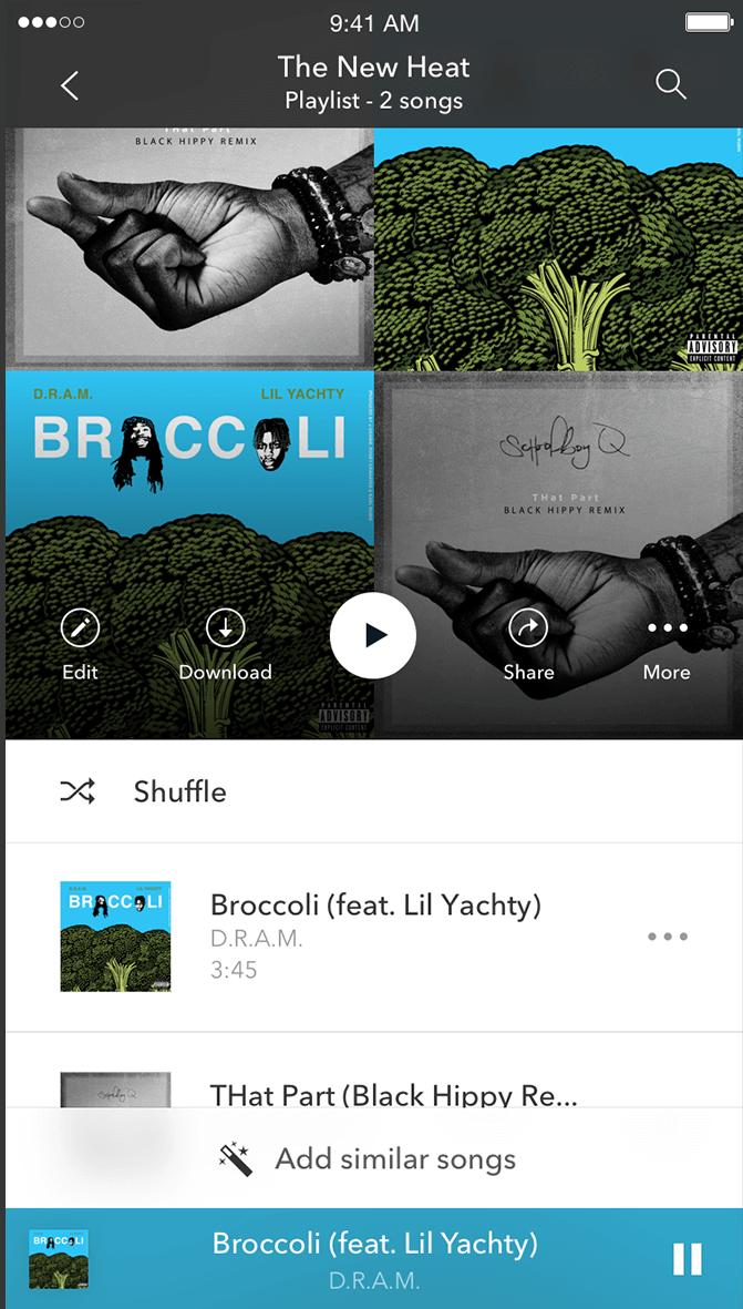 Pandora Premium: Add Similar Songs
