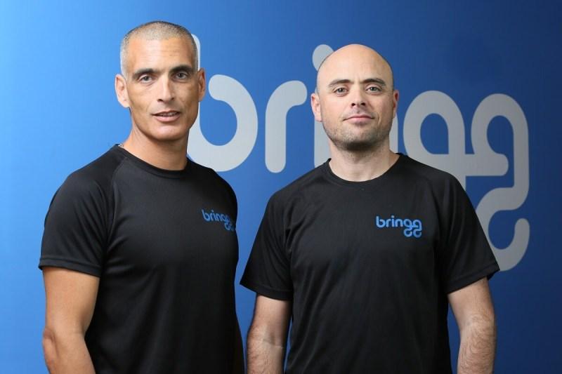 Bringg CEO Raanan Cohen (left) and CTO Lior Sion.