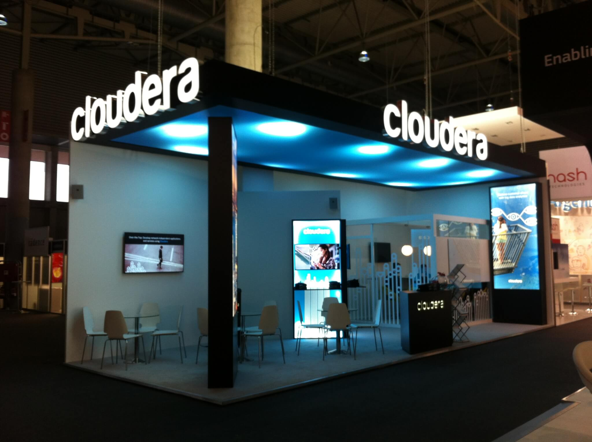 Cloudera starts trading at $17.80, up 19% from IPO price