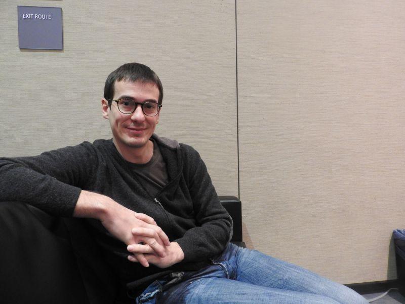 Kaan Karamanci, cofounder at Gram Games, at GDC 2017.