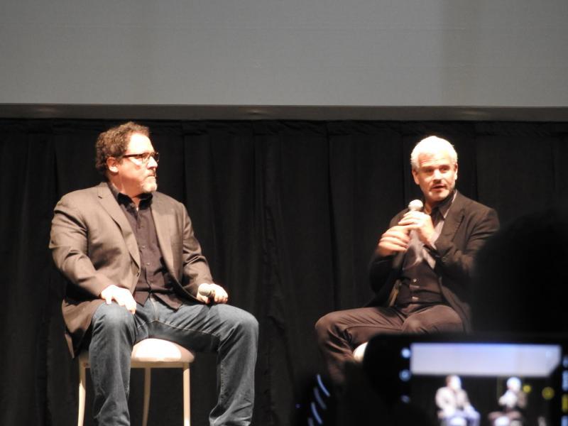 John Favreau (left) and Adam Gazzaley.