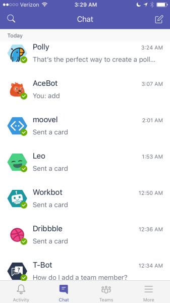 Bots on Microsoft Teams