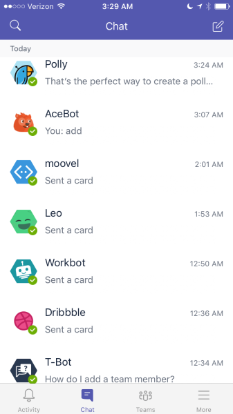 Bots on Microsoft Teams