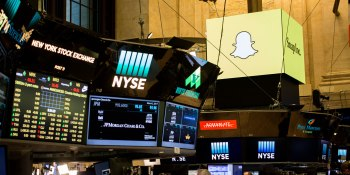 Snap stock sinks to IPO price: $17 per share
