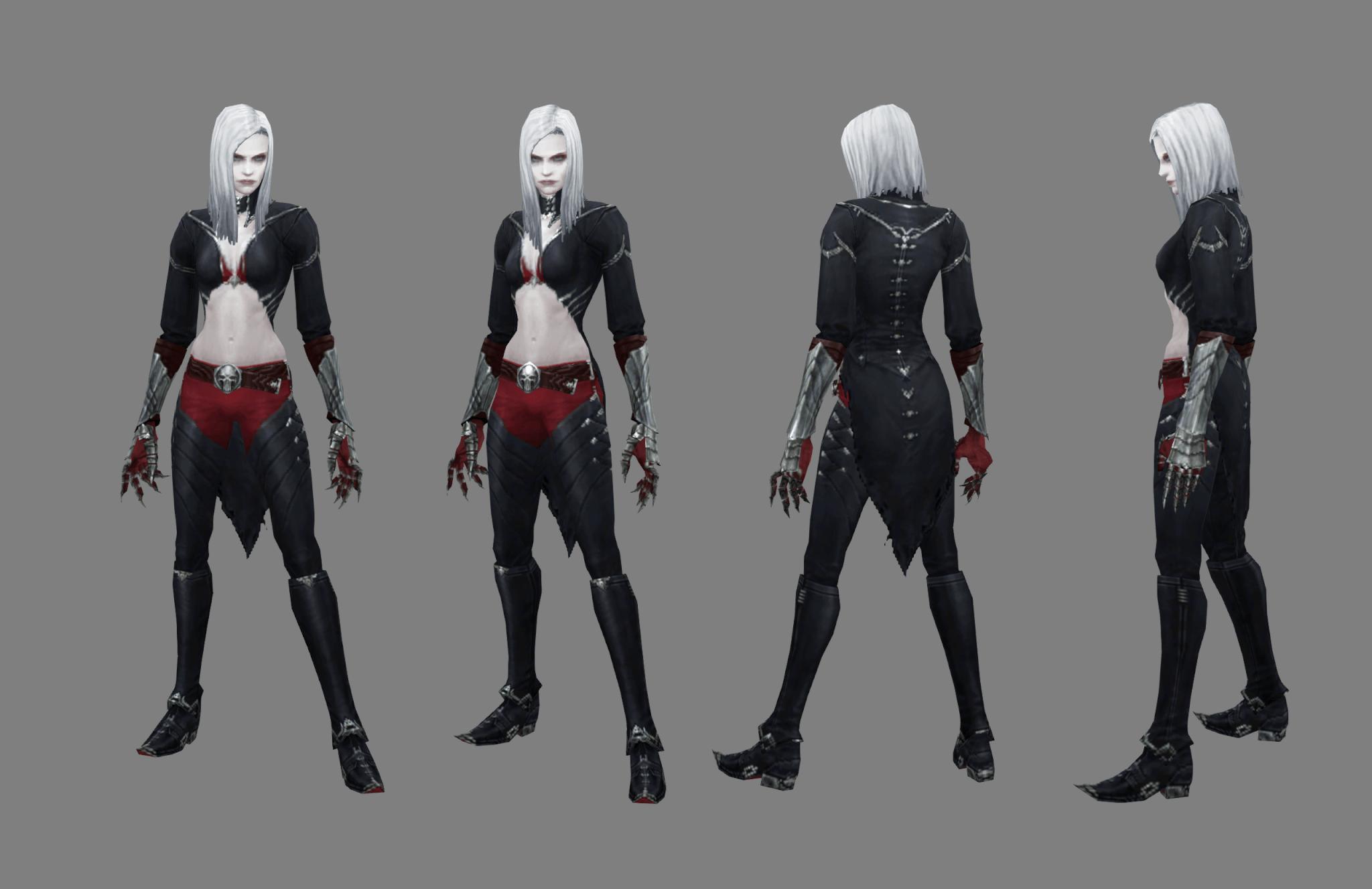 The female Necromancer.