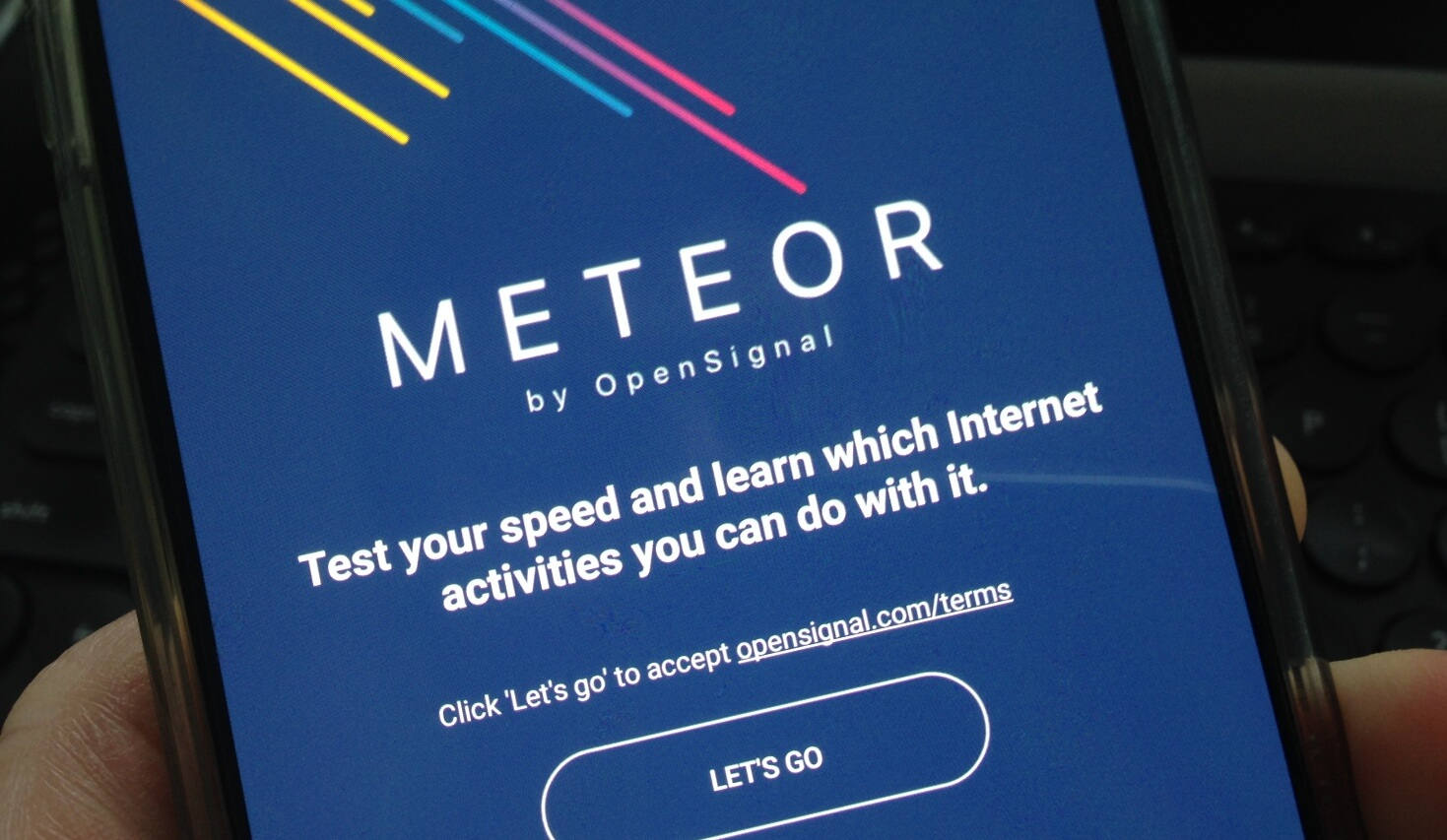 Opensignal 39 s new network speed testing app tells you what for App that tells you what is in a picture