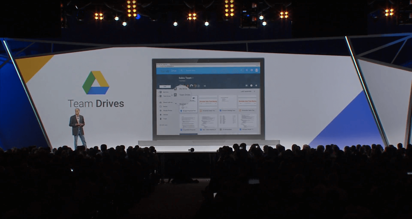 Google Drive's Team Drives.