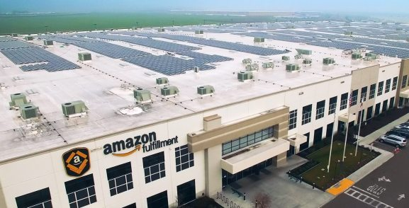 Amazon S First Fulfillment Center In New York State Is