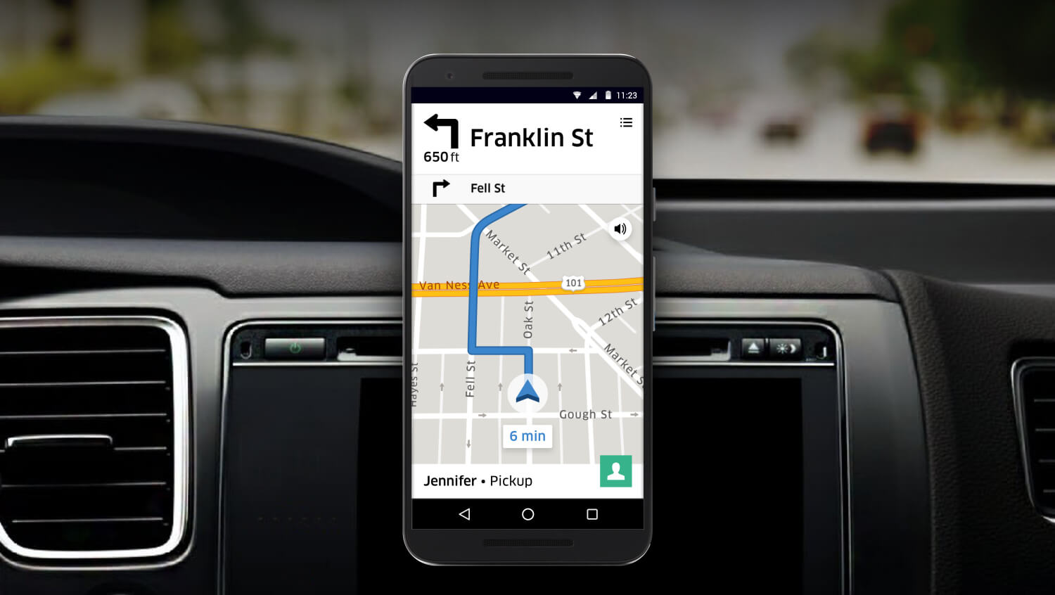 Uber Revamps Navigation For Drivers Now Includes In App