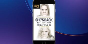 AdColony launches instant-play vertical video ads with UFC