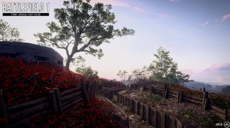Rupture map in Battlefield 1: They Shall Not Pass.