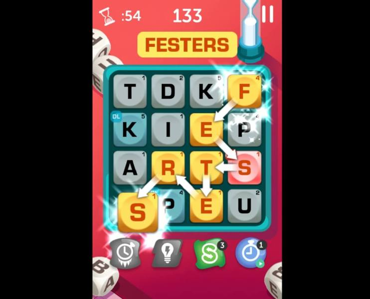 Boggle With Friends comes from Zynga and Hasbro.