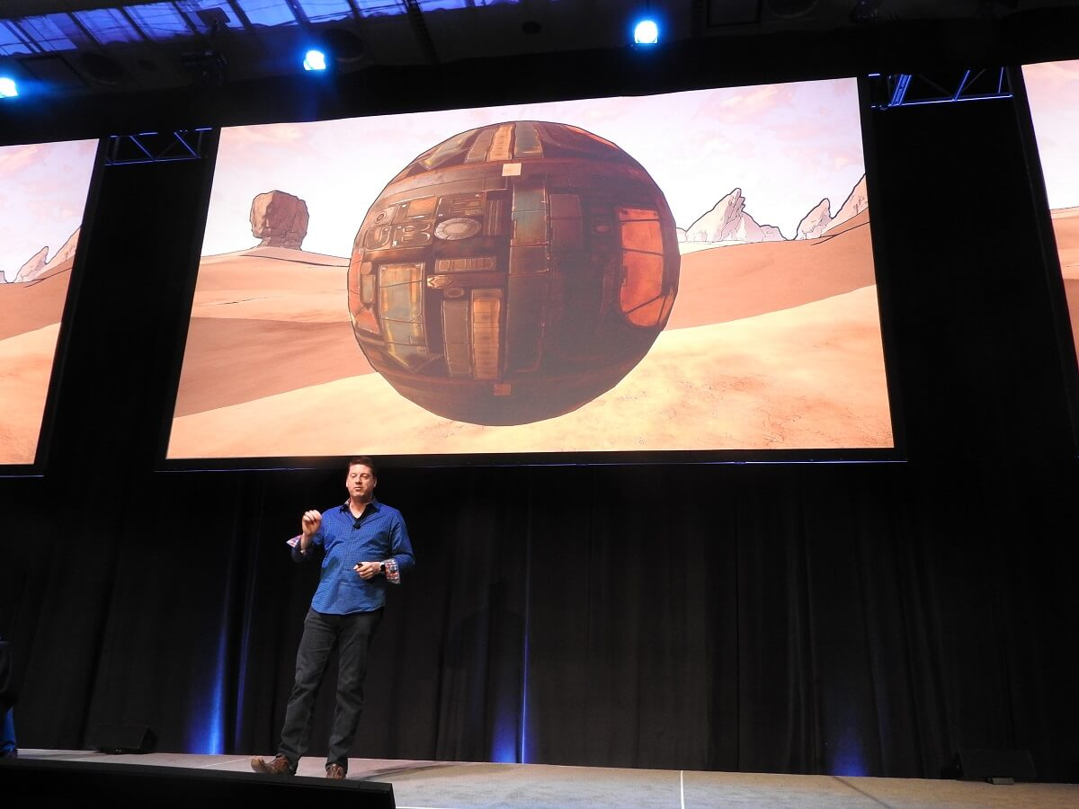 Randy Pitchford of Gearbox Software at GDC 2017.