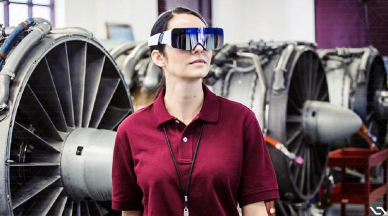 Enterprises could use augmented reality glasses to improve technical maintenance.