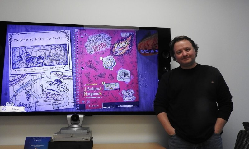 David Jaffe, designer of Drawn to Death.