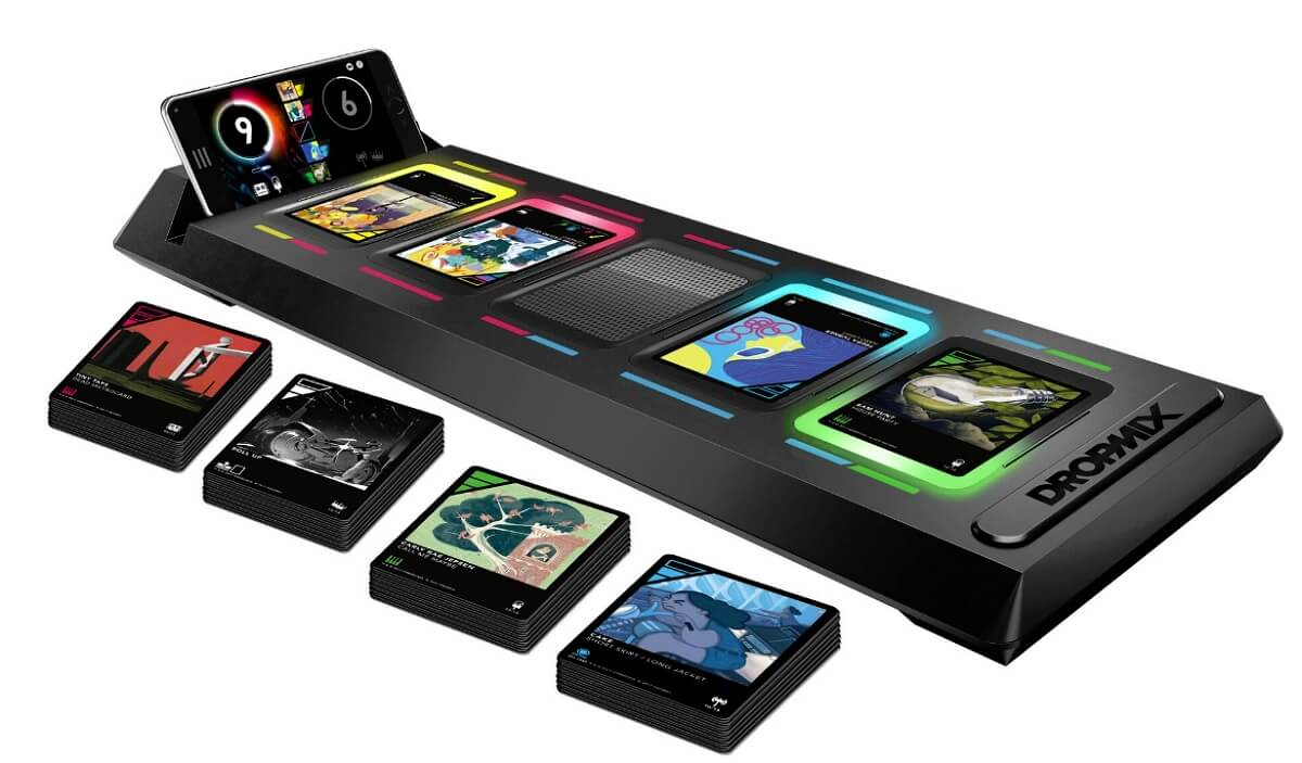 Dropmix cards enable you to mix music.