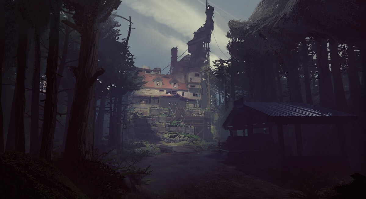 The crazy house in What Remains of Edith Finch.