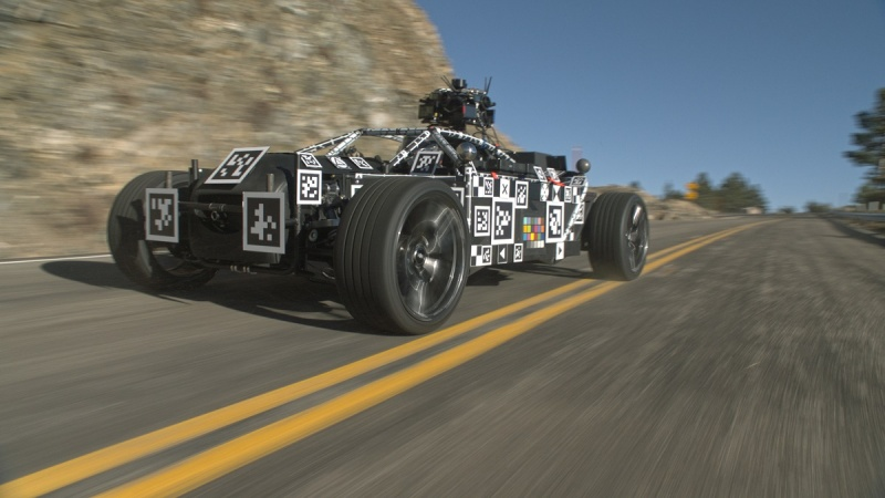 The Mill's Blackbird is a car that can be reskinned with game animations.