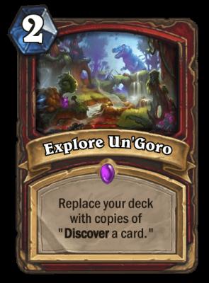Explore Un'Goro.