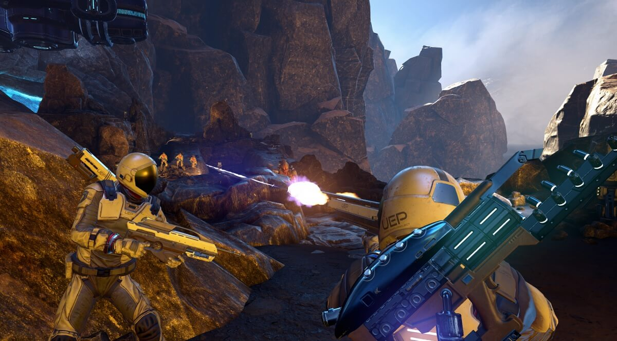 Farpoint is a shooter that uses the PlayStation Aim Controller.