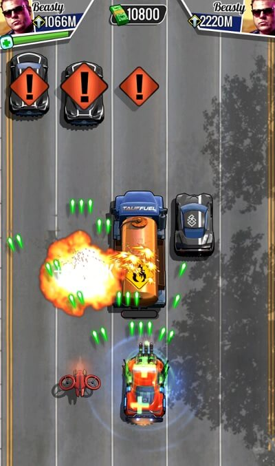 Fastlane is a new game from Space Ape Games.