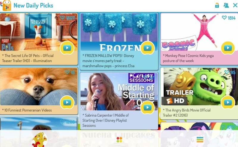 Kidoz provides games, vidoes, and other apps to children.